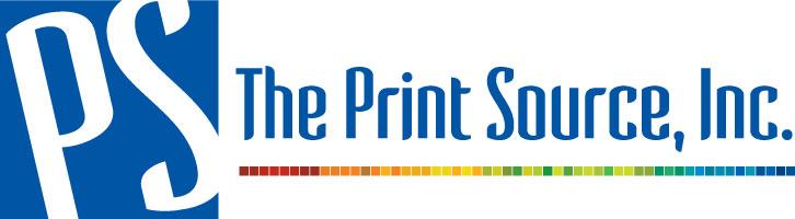 PS The Print Source Inc_Logo_02 - Plain-Horizonal_Full-Color